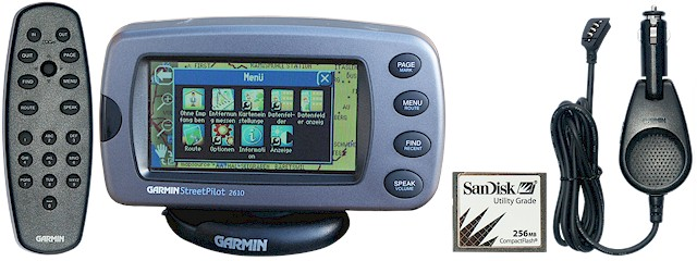 TRAMsoft - GARMIN StreetPilot 2610/2620/2720 (english) on