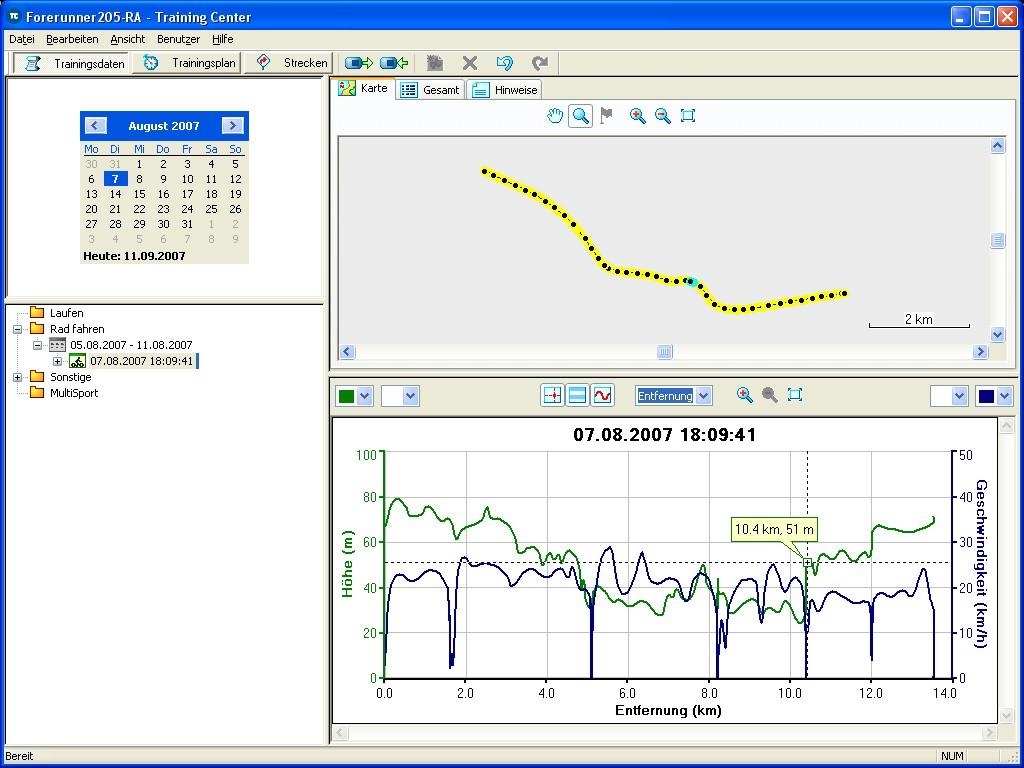 Tramsoft Garmin Edge 205 English Gps 18 Pc Wiring Diagram Training Center User Profile Overview Graphics
