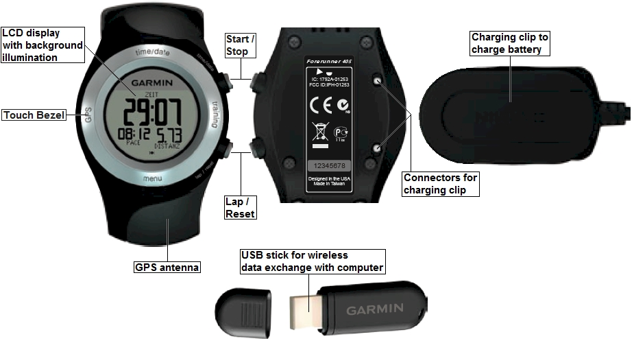 garmin 405cx manual free owners manual u2022 rh wordworksbysea com manual garmin forerunner 405 portugues Garmin Forerunner 410