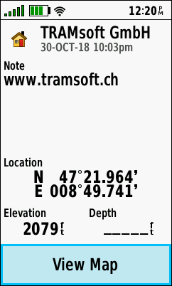 TRAMsoft GmbH - GARMIN GPSMAP 66 series (english)