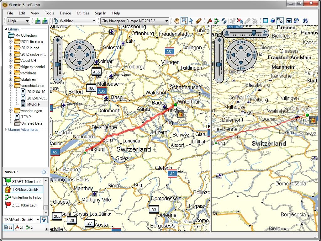mapsource deutsch