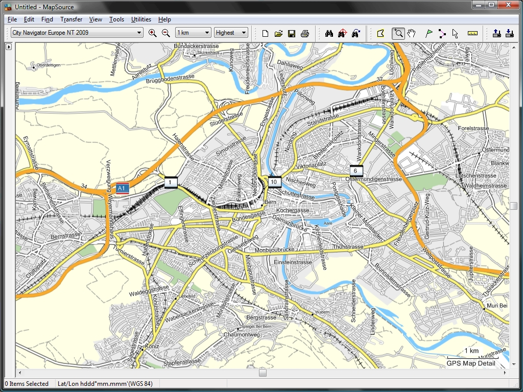 TRAMsoft GmbH - GARMIN MapSource (english)