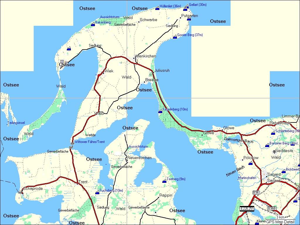 Ostsee Deutschland Karte.Tramsoft Gmbh Garmin Mapsource Topo Deutschland Deutsch