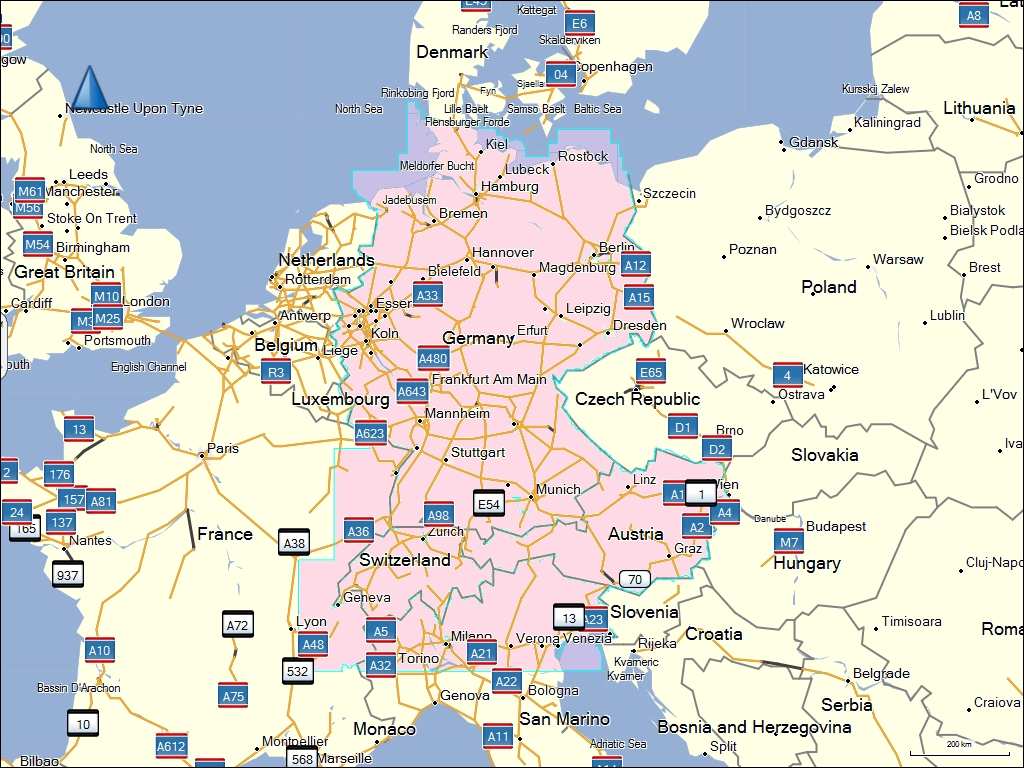 Karte Süddeutschland österreich Schweiz.Tramsoft Gmbh Garmin Mapsource City Navigator Europa Deutsch