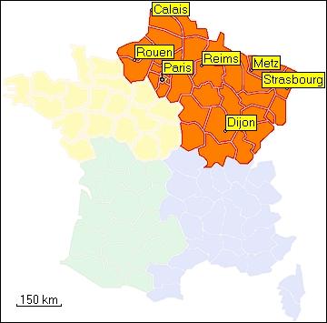 Map Of France North.Tramsoft Gmbh Garmin Mapsource France English