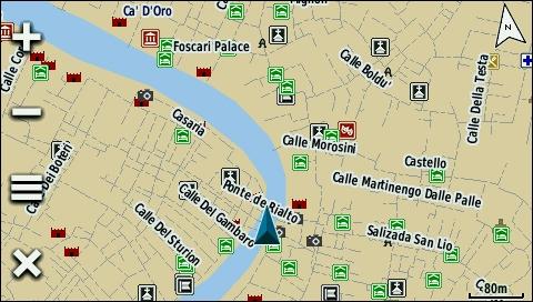 Venedig Karte.Tramsoft Gmbh Garmin Trekmap Italia V4 Pro Deutsch