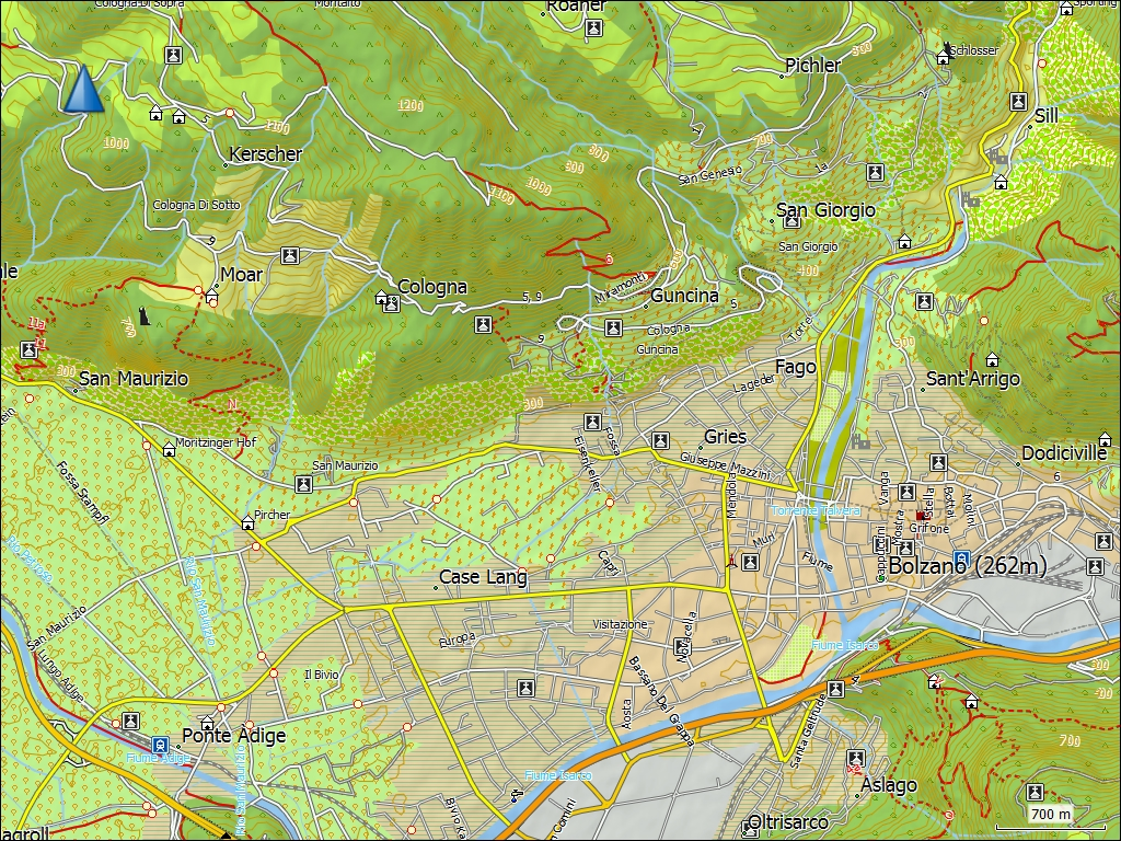 Detailed Map Of Italy In English.Tramsoft Gmbh Garmin Trekmap Italia V4 Pro English