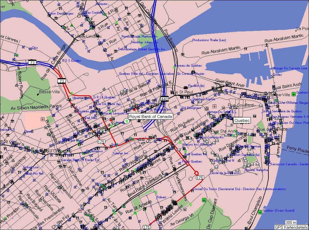 Quebec Karte.Tramsoft Gmbh Garmin Mapsource Kanada Deutsch