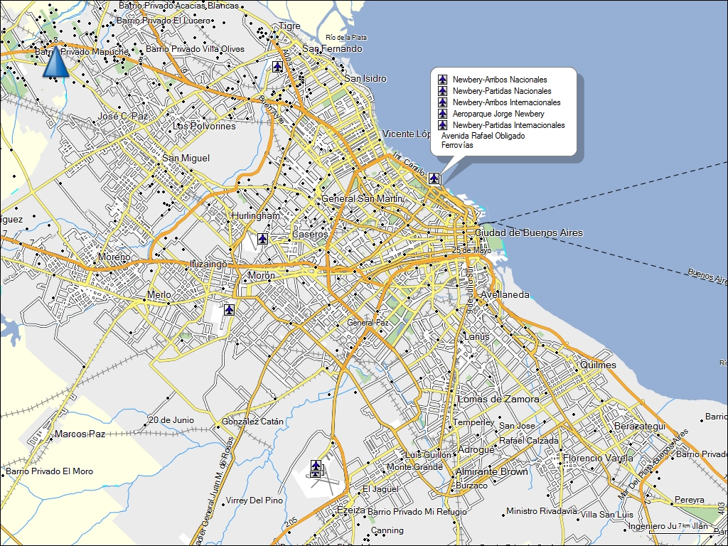 TRAMsoft GmbH GARMIN MapSource South America English - Argentina map garmin