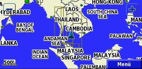 TRAMsoft GmbH - GARMIN MapSource Southeast Asia (english) on mitsubishi thailand, kensington thailand, mio thailand, panasonic thailand, oakley thailand,