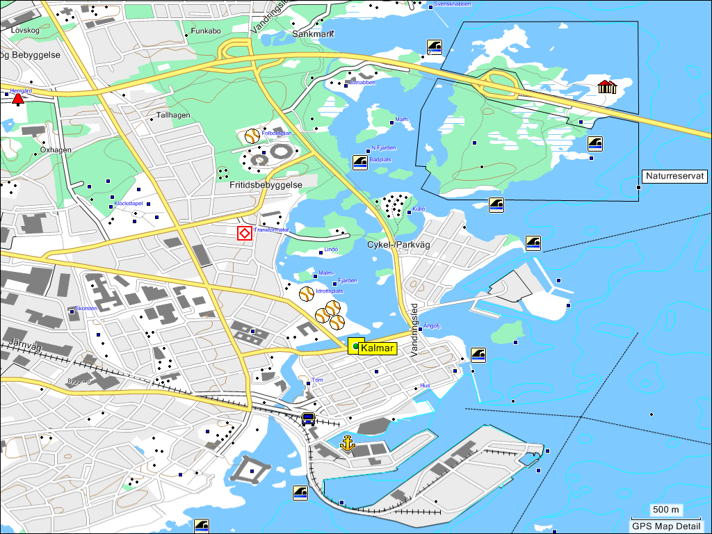 TRAMsoft GmbH GARMIN MapSource Sweden English - Sweden big map