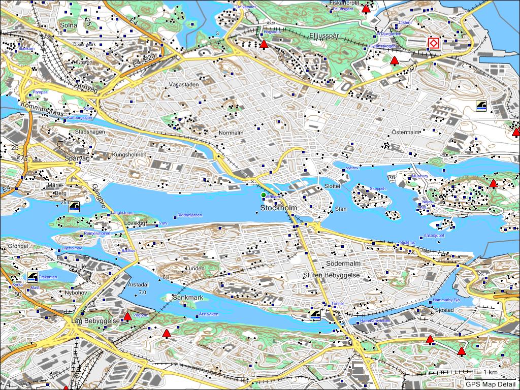 TRAMsoft GmbH - GARMIN MapSource Sweden (English)