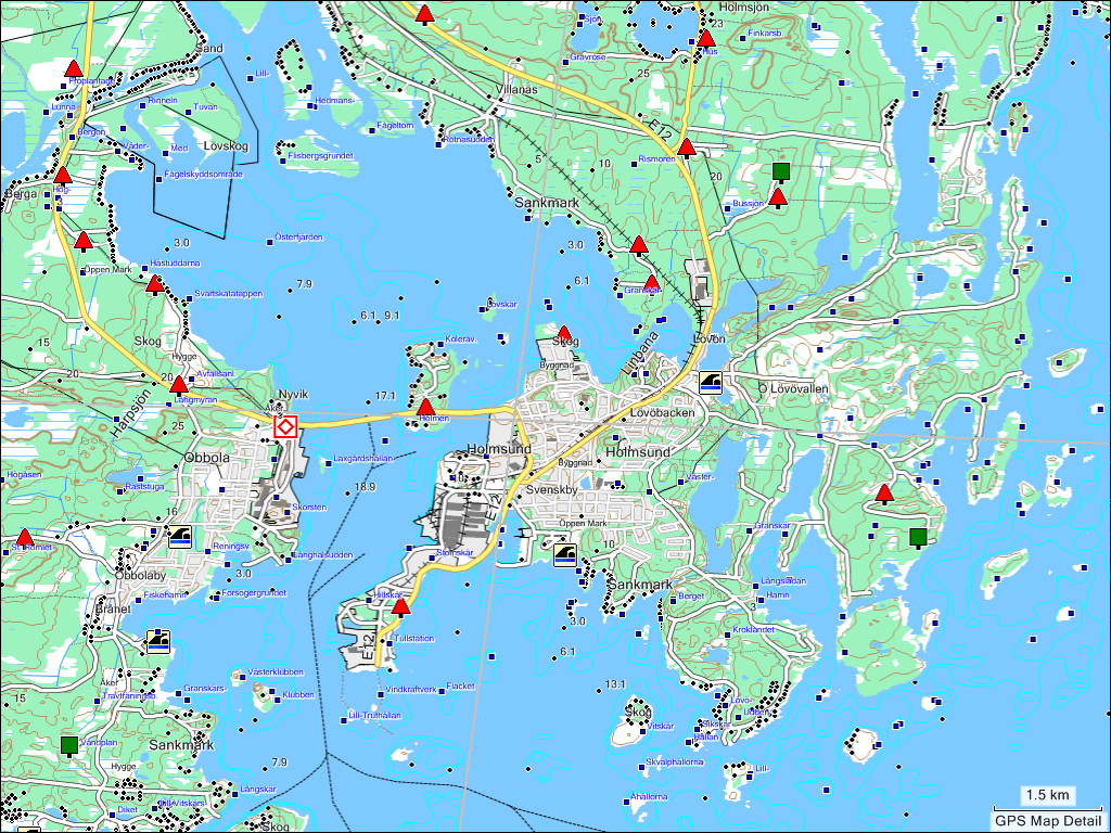 TRAMsoft GmbH GARMIN MapSource Sweden English