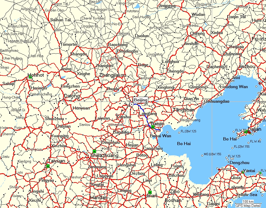 Beijing City Map English 2017 2018 Best Cars Reviews