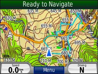 Garmin Topographic Map.Tramsoft Garmin Nuvi 550 English