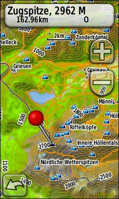 TRAMsoft GmbH GARMIN Oregon T English - Germany map for garmin