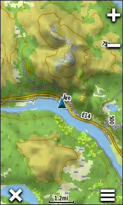 TRAMsoft GmbH GARMIN Oregon Series English - Sweden map for garmin