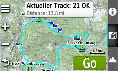 TRAMsoft GmbH GARMIN Oregon 600 series english