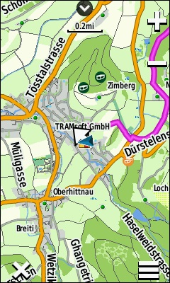 TRAMsoft GmbH - GARMIN Oregon 700 series (english)